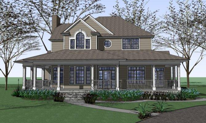 Colonial Victorian Homes Ranch House Plans Farm