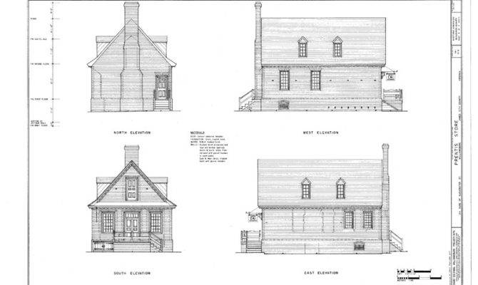 Colonial Williamsburg Brick Cottage Traditional Detailed Home Plans