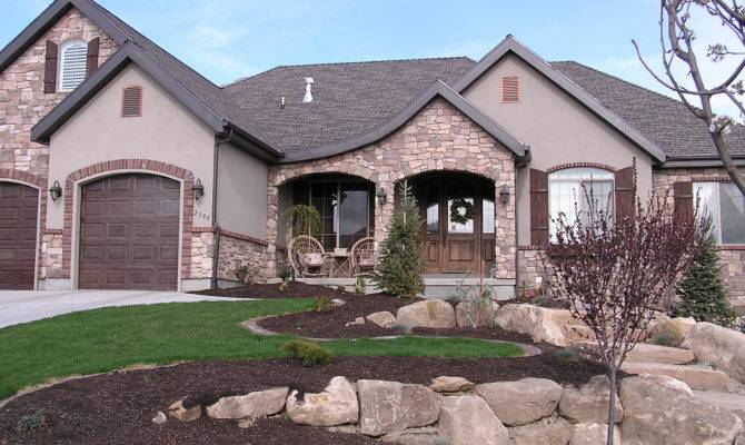 Color Brick Stucco Houses Quotes