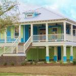 Colorful Beach Coastal Home Mississippi Gulf Coast Pass