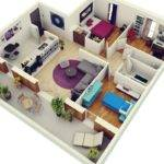 Colorful Home Would Ideal Choice Music Lovers