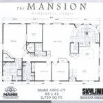 Columbia Gorge Affordable Homes Mansion Floor Plans Floorplan