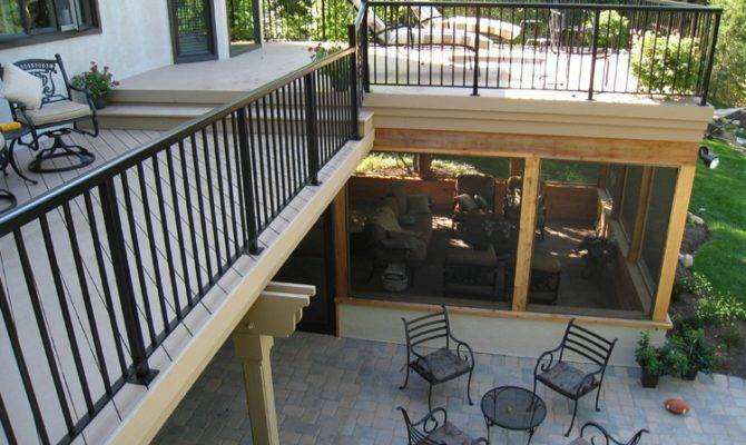 Columbus Under Deck Screened Porches Decks