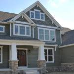 Columns Craftsman Style Elevation Tapered Brackets