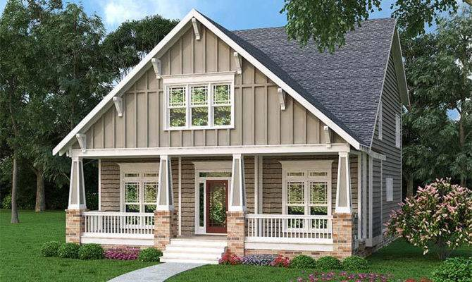 Comfortable Craftsman Bungalow Architectural