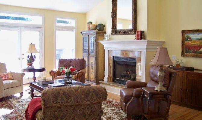 Comforts Home French Country Living Room Before After