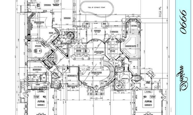 Commercial Building Floor Plans Over House
