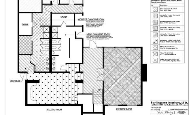 Commercial Floor Finish Plan Architecture Plans