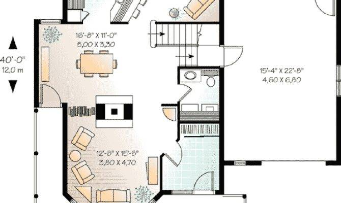 Compact Guest House Plan Architectural Designs