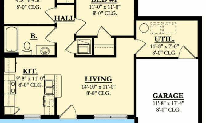 Compact Starter House Plan Architectural