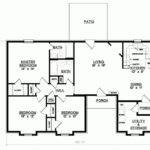 Compact Three Rooms House Plan Maximizing Space Big