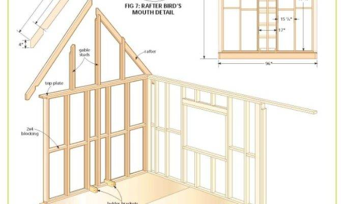 Completely Cottage Wood Cabin Plans