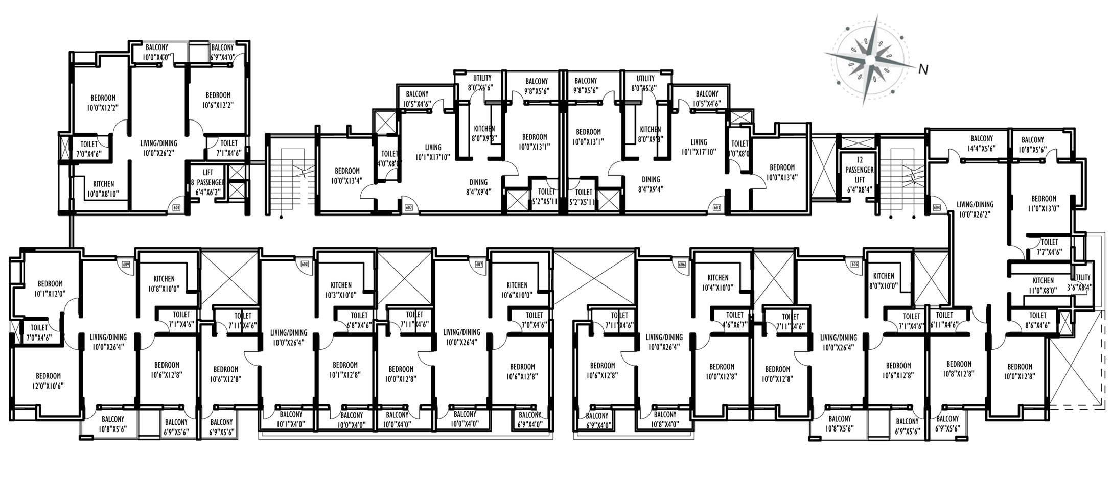 Compound House Plans Floor Plan House Plans 60260