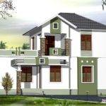 Comsmall Double Floor Home Design Feet Kerala