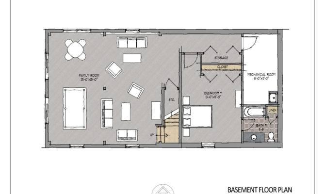 Concrete Basement Homes Plans House