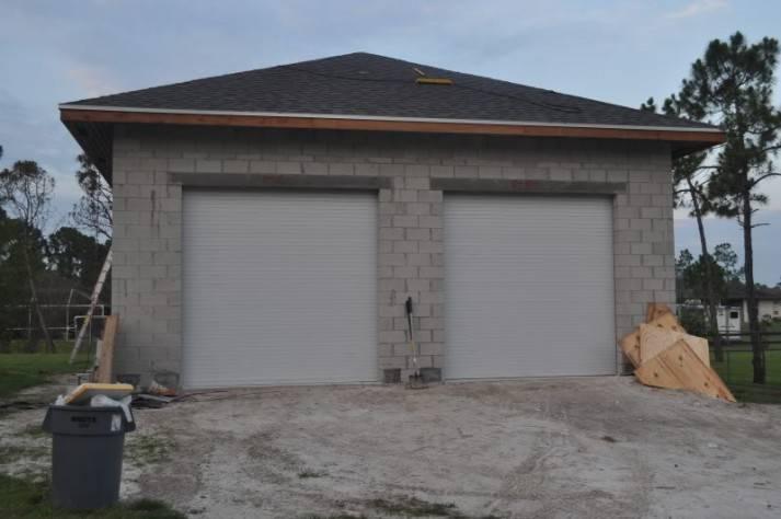 Concrete Block Garage House Plans 61043