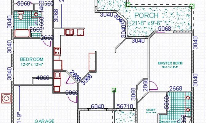 Concrete Block House Plans Over