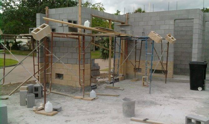 Concrete Cinder Block Garage Plans