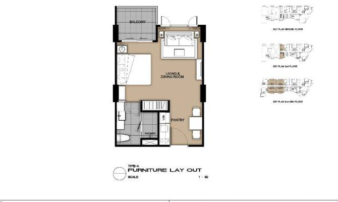 Condo Studio Type Plan Joy Design Best