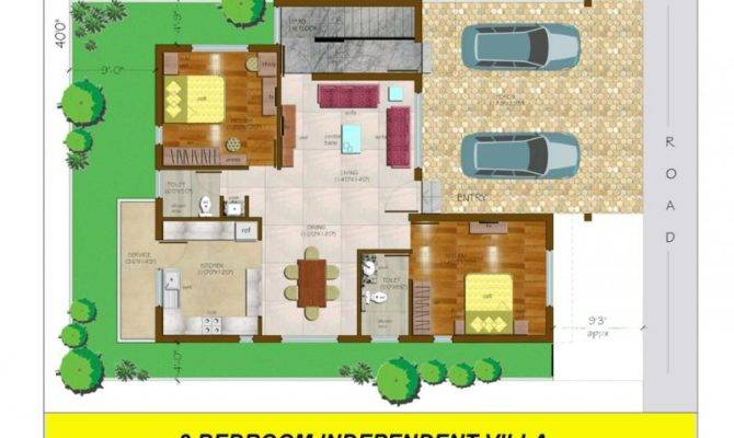 Conseptz Bedroom Independent Villa Floor Plan