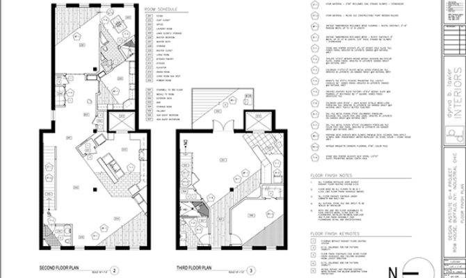 Construction Documents Residential Design Behance