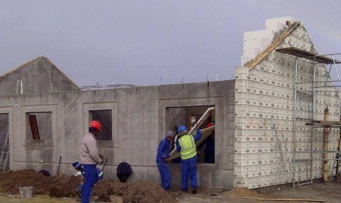 Construction Technology Moladi Plastic Formwork Low