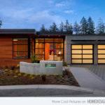 Contemporary Attached Garage Design Decoration House