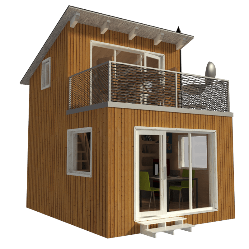 Contemporary Cabin Plans