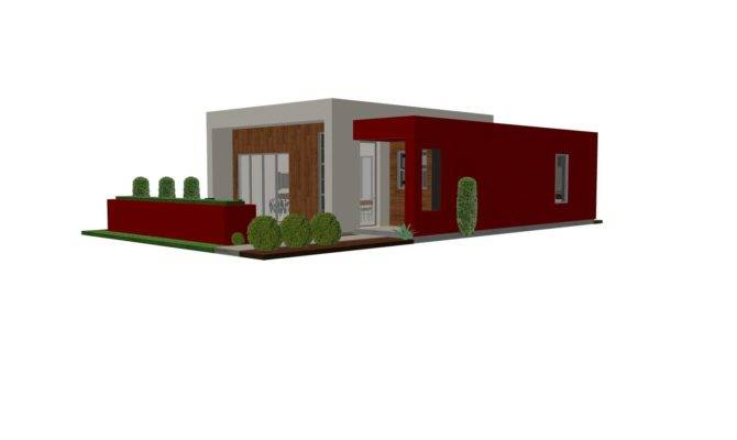 Contemporary Casita House Plan Small