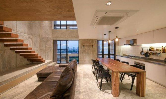 Contemporary Chef Two Story Apartment Renovation