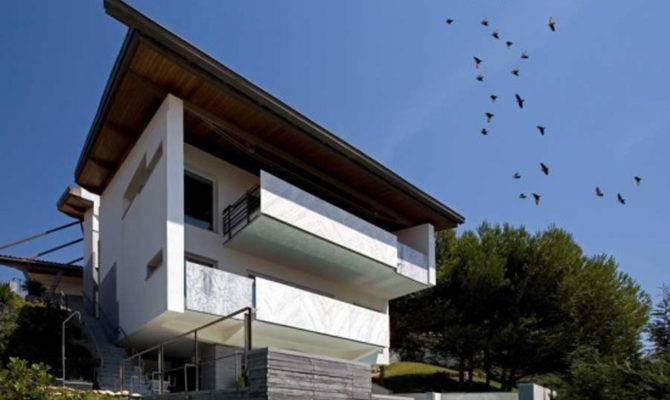 Contemporary Concrete House Plans Floor