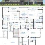 Contemporary Courtyard House Plan Custom Modern
