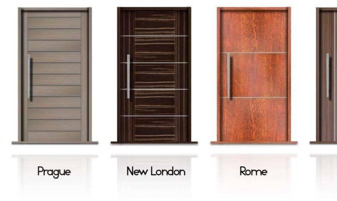 Contemporary Front Doors Modern External Folding