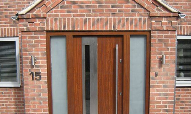 Contemporary Front Doors Old English