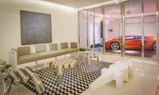 Contemporary Garage Interior Design Ideas House Plans 5359