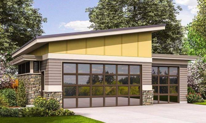Contemporary Garage Plan Architectural Designs