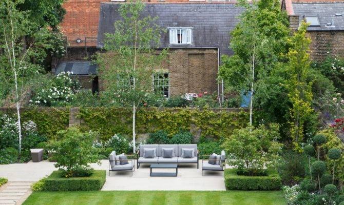 Contemporary Garden Seating Area Randle Siddeley