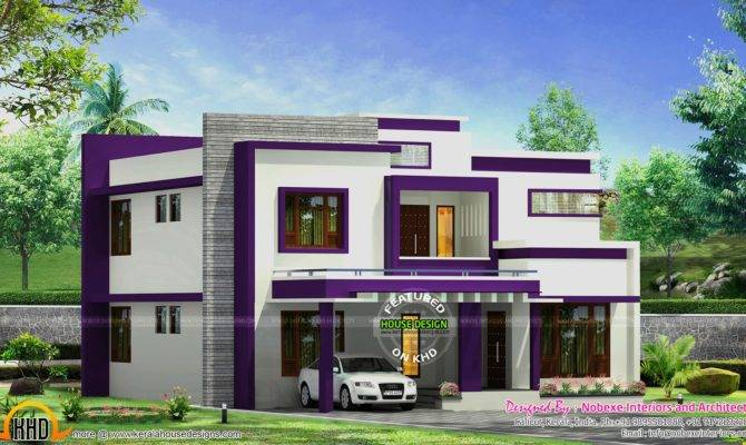 Contemporary Home Design Nobexe Interiors Kerala