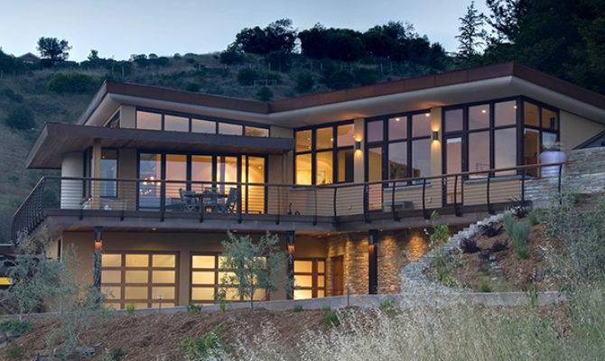 Contemporary Home Mill Valley California Earth