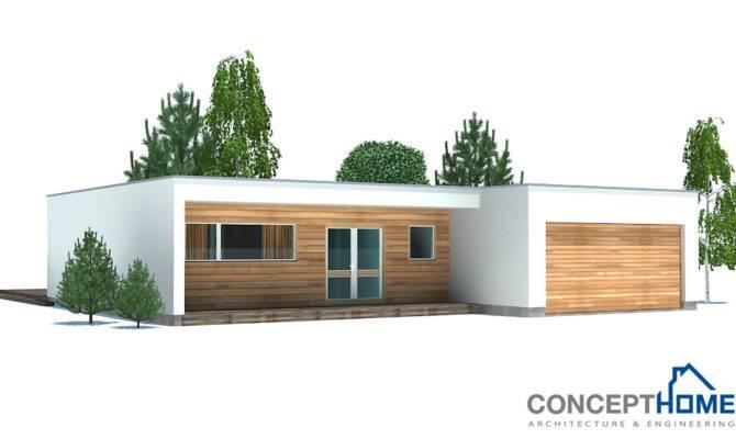 Contemporary Home Plan Floor Plans Details