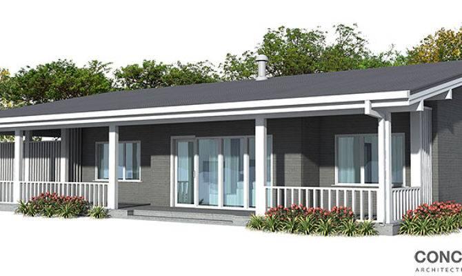 Contemporary Home Plan House Design Floor