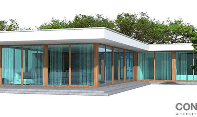 Contemporary Home Wide Lot