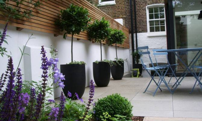Contemporary Horizontal Slatted Fence Panels Help
