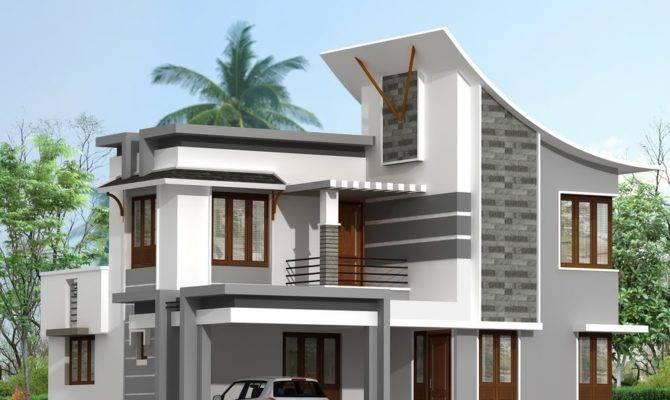 Contemporary House Estate Home Studio Max Software