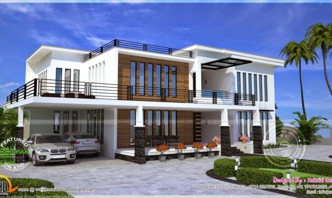 Contemporary House Kerala Home Design Floor Plans