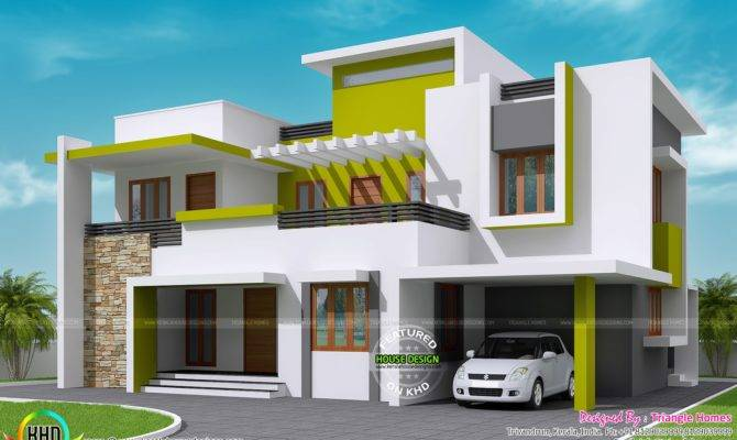 Contemporary House Kerala Home Design Floor