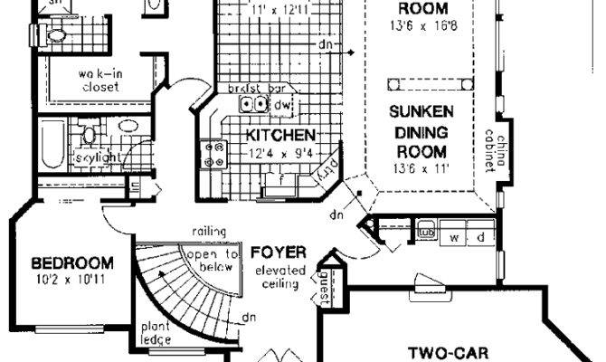 Contemporary House Plans Under Square Feet Home