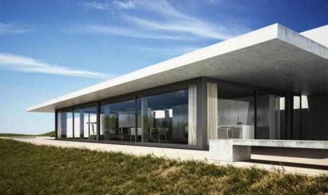 Contemporary Lighting Beach House Spain Home Design