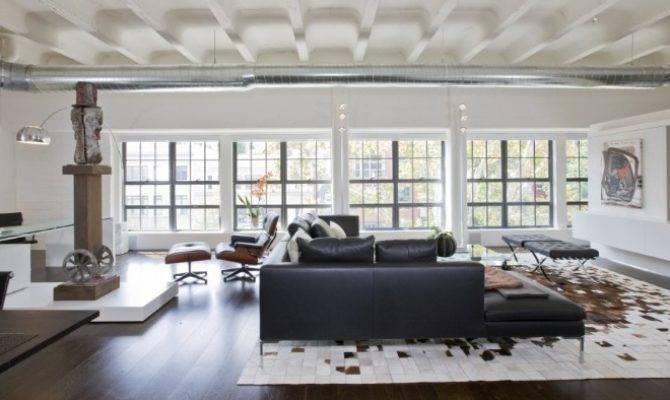 Contemporary Loft Studio Santalla Homeadore