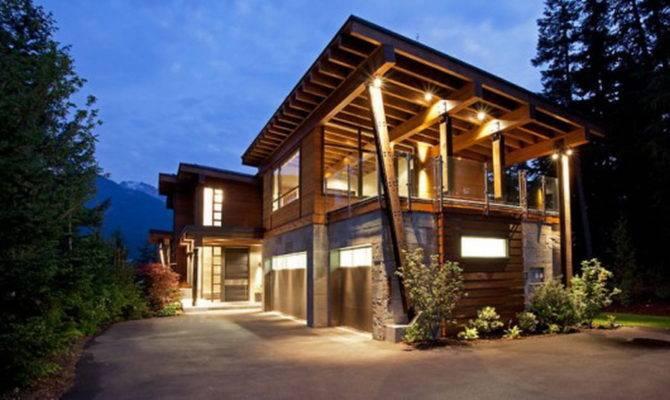 Contemporary Log Home Plans House Homes Photos